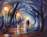 "Картина по номерам ""Вечерняя прогулка"" (400х500 мм; арт. GX8231)"