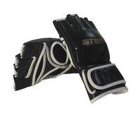 Перчатки для MMA LTB19103 (L; кожа; чёрные)