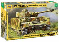 "Сборная модель ""Немецкий средний танк ""Panzer IV Ausf. G"" (масштаб: 1/35)"
