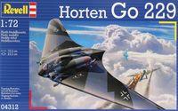 """Сборная модель """"Немецкий самолет Horten Go 229"""" (масштаб: 1/72)"""