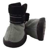 Ботинки (5х4,5х6 см; серые)
