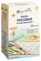 """Детская каша Fleur Alpine Organic """"Рисовая гипоаллергенная"""" (175 г)"""