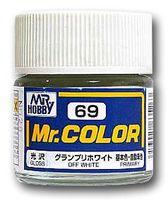 Краска Mr. Color (off white, C69)