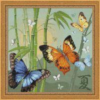 "Набор для вышивания ""Бабочки"" (350х350 мм)"