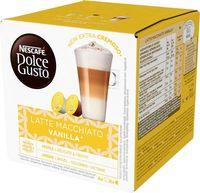 "Кофе капсульный ""Nescafe. Dolce Gusto. Latte Macchiato Vanilla"" (16 шт.)"