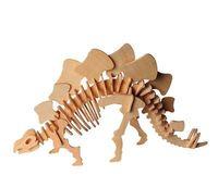 """Сборная деревянная модель """"Стегозавр"""" (малый)"""