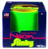 Пружинка Slinky неон