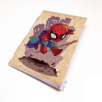 "Блокнот крафт ""Человек-паук"" А5 (898)"