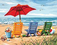 "Картина по номерам ""Пляж"" (300х400 мм)"