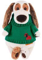 """Мягкая игрушка """"Бартоломей в зелёном свитере"""" (27 см)"""