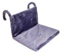 Гамак для кошек (43х32х20 см; серый)