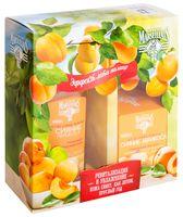 """Подарочный набор """"Сияние абрикоса"""" (гель-крем для лица, очищающая вода)"""