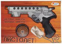 Пистолет (со световыми и звуковыми эффектами; арт. 1107G440-R)