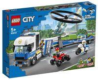 """LEGO City """"Полицейский вертолётный транспорт"""""""