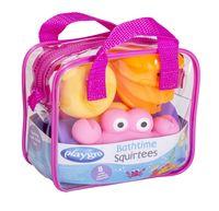 """Набор игрушек для купания """"Для девочки"""" (8 шт)"""