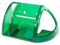 Держатель для туалетной бумаги (зеленый полупрозрачный)