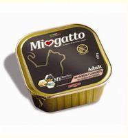 """Консервы для кошек """"Miogatto"""" (100 г; лосось и креветки)"""