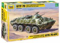 "Сборная модель ""Советский БТР-70 (Афганистан 1979-1989 гг.)"" (масштаб: 1/35)"