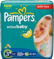 "���������� ""Pampers Active Baby Midi Plus"" (5-10 ��, 88 ��.)"
