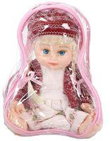 Кукла в бордовой кофточке ( в сумке)