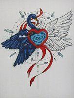 """Вышивка крестом """"Вечная любовь"""""""