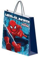 """Пакет бумажный подарочный """"Spider-Man"""" (18х21х8,5 см; арт. SMAB-UG1-1821-Bg)"""