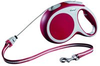 """Поводок-рулетка для собак """"Vario"""" (красный, размер S, до 12 кг/5 м)"""