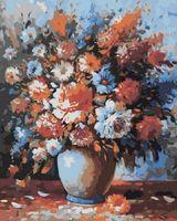 """Картина по номерам """"Весенний букет"""" (400x500 мм)"""