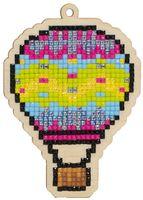 "Алмазная вышивка-мозаика ""Брелок. Воздушный шар"" (73х103 мм)"