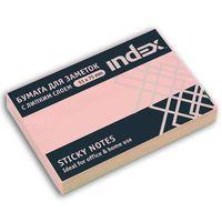 Бумага для заметок (светло-розовая; 51х75 мм)