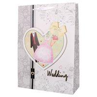 """Пакет бумажный подарочный """"Wedding"""" (30х42х12 см; арт. DV-4242)"""