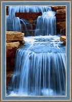 "Алмазная вышивка-мозаика ""Шумный поток"" (400х600 мм)"