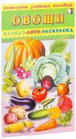Овощи. Плакат, лото, раскраска