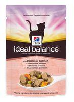 """Пресервы для кошек """"Ideal Balance"""" (85 г; лосось и овощи)"""