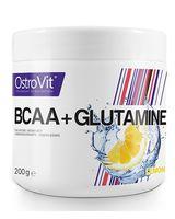 BCAA + Glutamine (200 г; лимон)