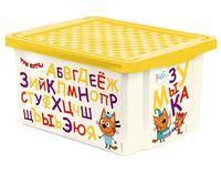 """Ящик для хранения игрушек """"Три кота. Обучайка"""" (арт. LA1225)"""