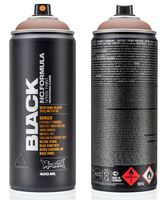 "Краска аэрозольная ""Black. After"" (коричневая; 400 мл)"