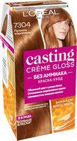 """Краска-уход для волос """"Casting Creme Gloss"""" (тон: 7304, пряная карамель)"""