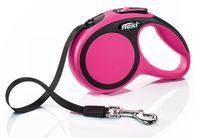 """Поводок-рулетка для собак """"New Comfort"""" (розовый, размер XS, до 12 кг/3 м)"""