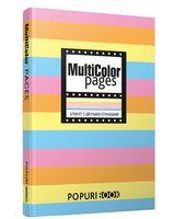 """Блокнот """"Multicolor pages"""" (140х200 мм)"""