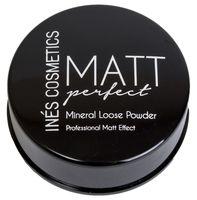 "Рассыпчатая пудра для лица минеральная ""Matt perfect"" (тон: 01, транспарантная)"