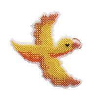 "Вышивка крестом ""Птица счастья"" (135х90 мм)"