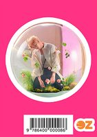 """Глянцевая наклейка """"BTS. Namjoon"""" (арт. 0008)"""