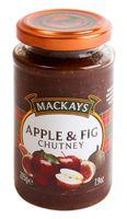 """Чатни """"Mackays. Яблочный с луком и инжиром"""" (225 г)"""