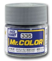 Краска Mr. Color (medium sea gray, C335)