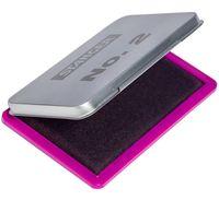 Штемпельная подушка (фиолетовая; металлическая)