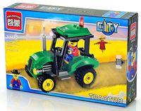 """Конструктор """"City. Трактор"""" (112 деталей)"""