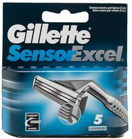 Кассета для станка Gillette Sensor Excel (5 шт)
