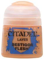 """Краска акриловая """"Citadel Layer"""" (bestigor flesh; 12 мл)"""
