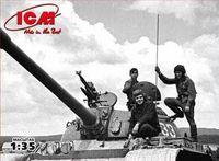 "Набор миниатюр ""Советский танковый экипаж 1979-1988 г."" (масштаб: 1/35)"